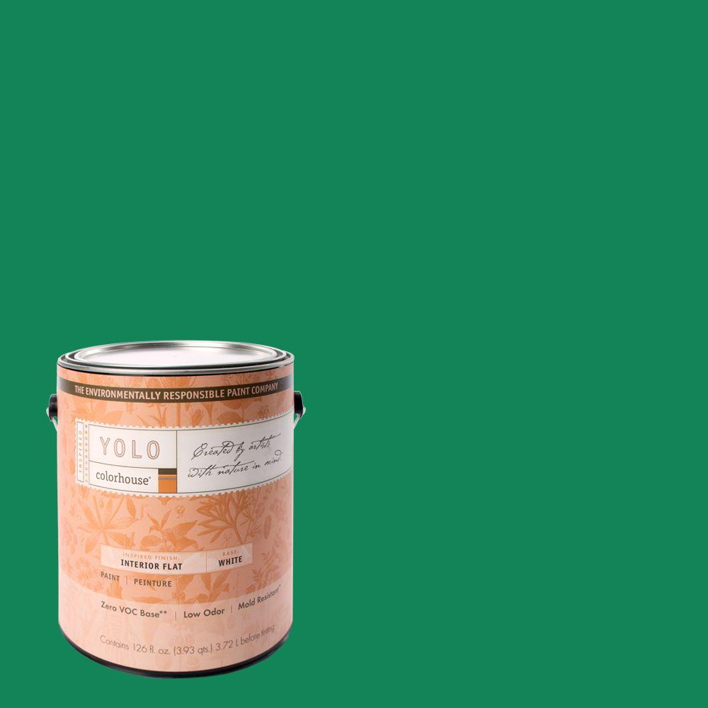 YOLO Colorhouse 1-gal. Thrive .06 Flat Interior Paint-DISCONTINUED