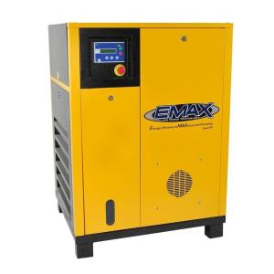 EMAX Premium Series 20 HP 3-Phase Stationary Electric Rotary Screw Air Compressor by EMAX