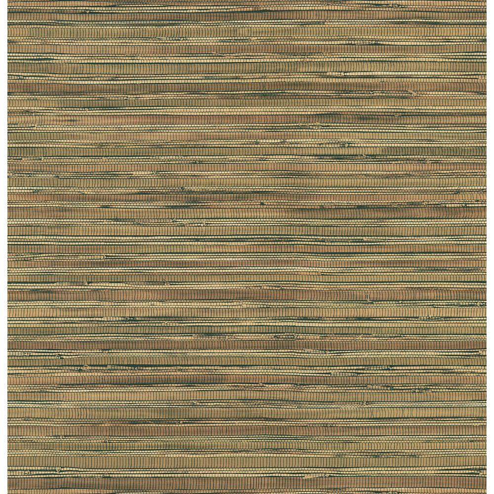 Brewster 8 in. W x 10 in. H Faux Grasscloth Wallpaper Sample