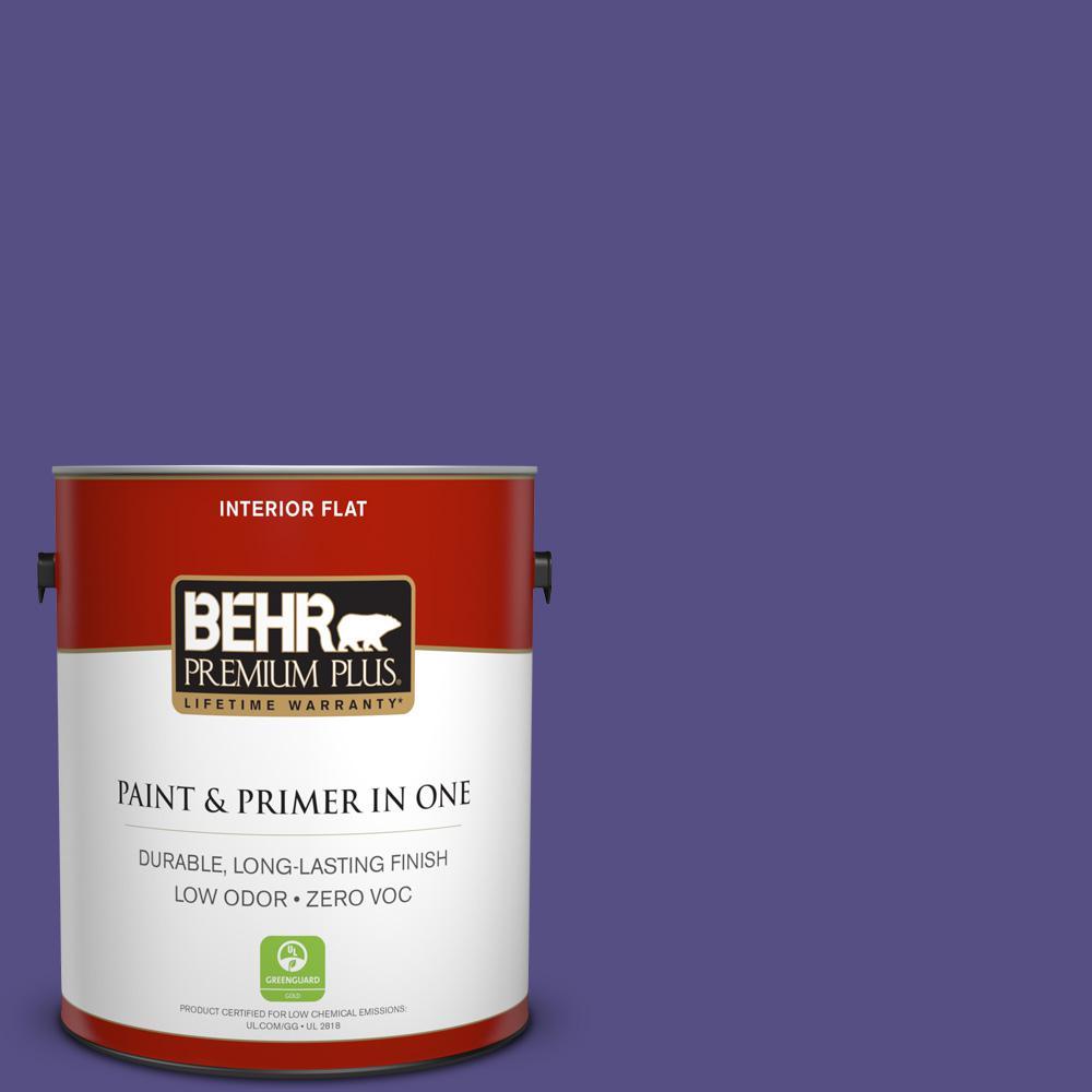 1 gal. #PPU16-01 Aurora Splendor Zero VOC Flat Interior Paint