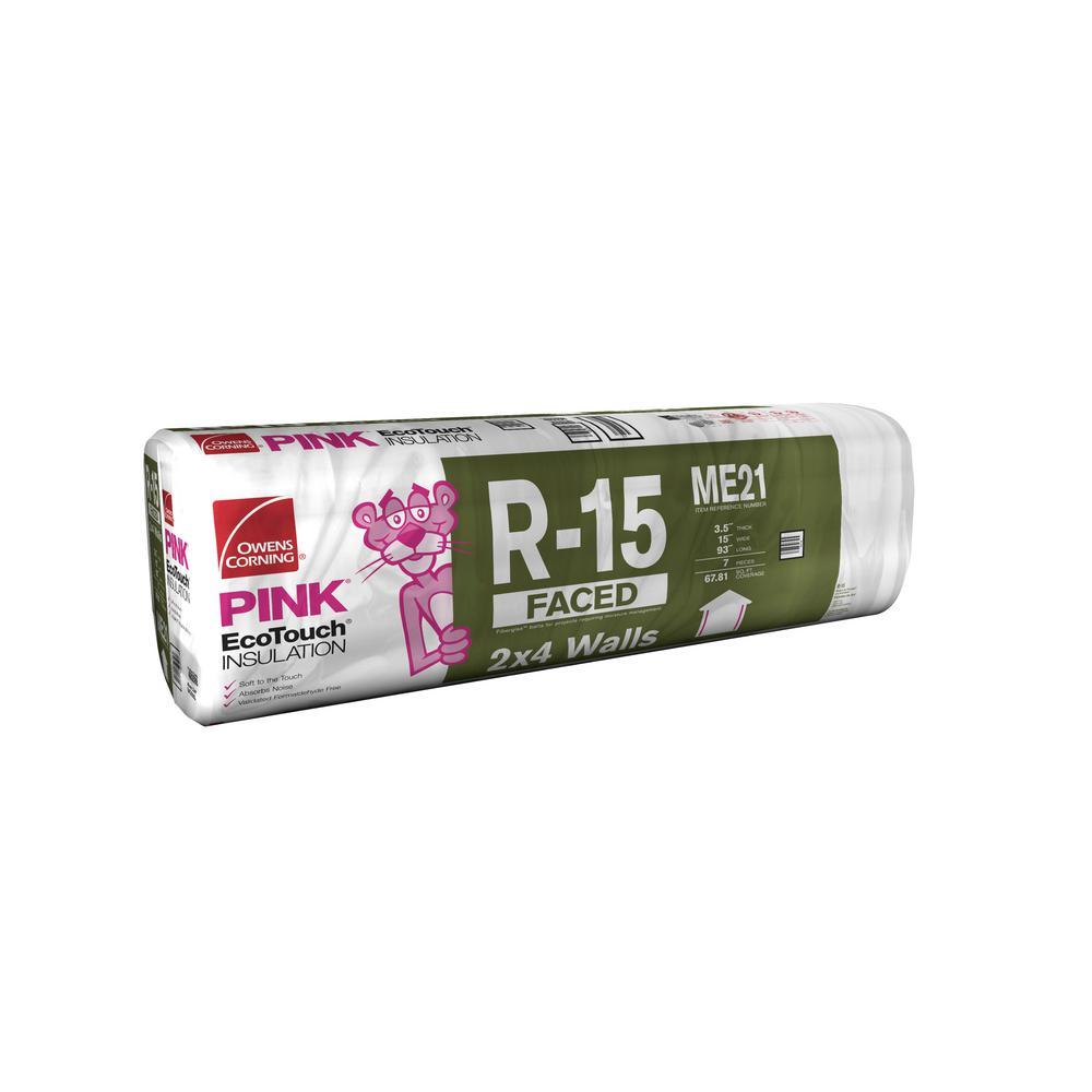 R-15 Kraft Faced Insulation Batt 15 in. x 93 in.