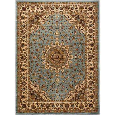 Delano Blue 9 ft. x 12 ft. Area Rug