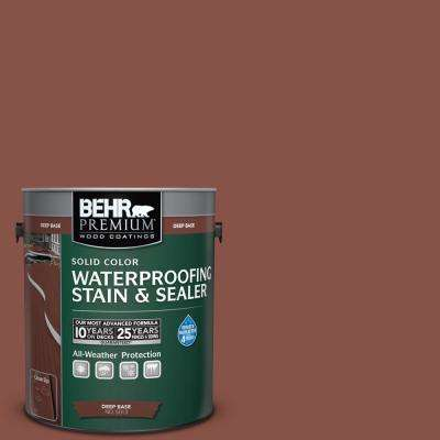 1 gal. #PPU2-18 Spice Solid Waterproofing Stain and Sealer