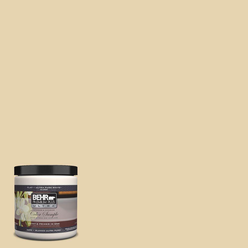 BEHR Premium Plus Ultra 8 oz. #360E-2 Castle Stone Interior/Exterior Paint Sample
