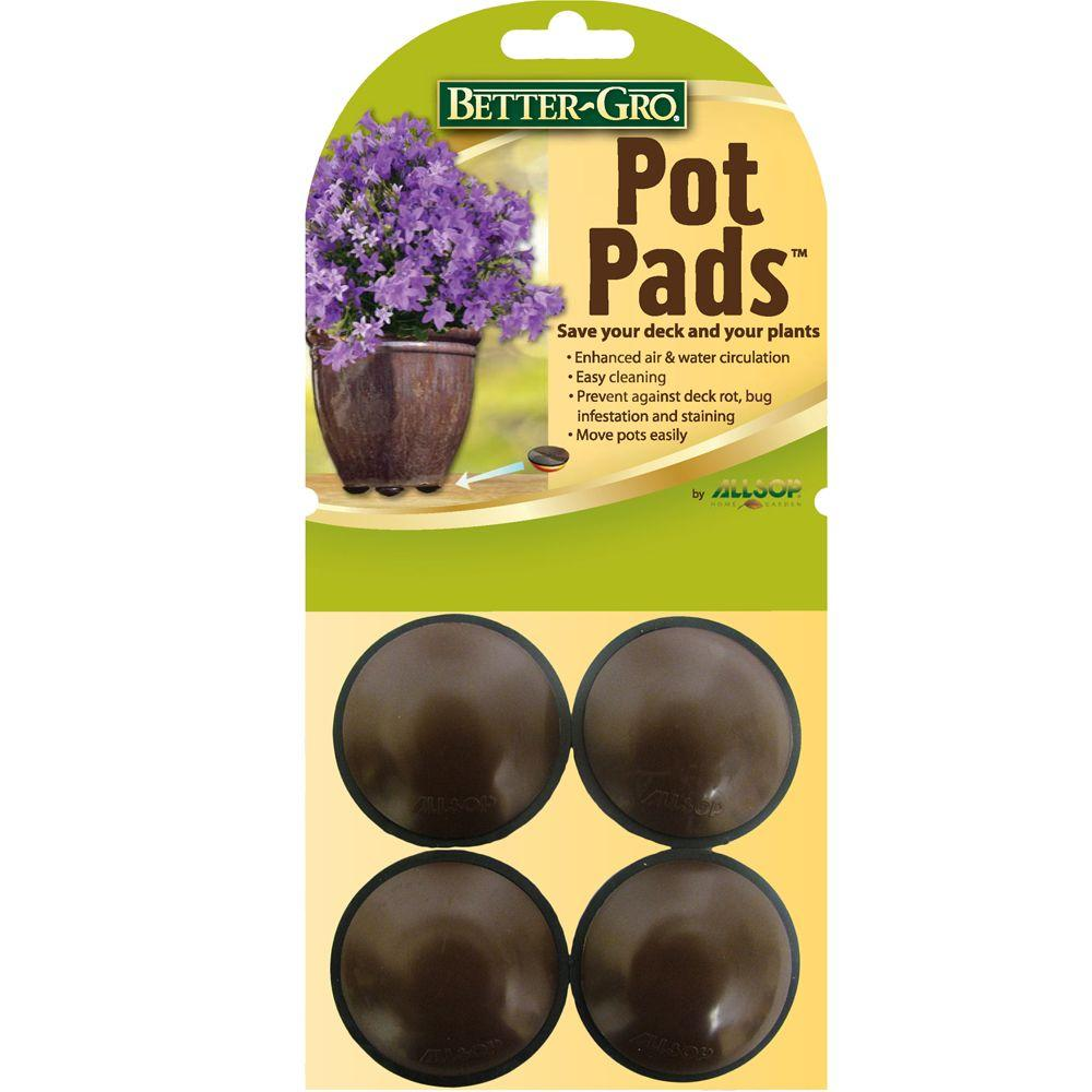 Better Gro Pot Pads 4 Count 56000 The Home Depot