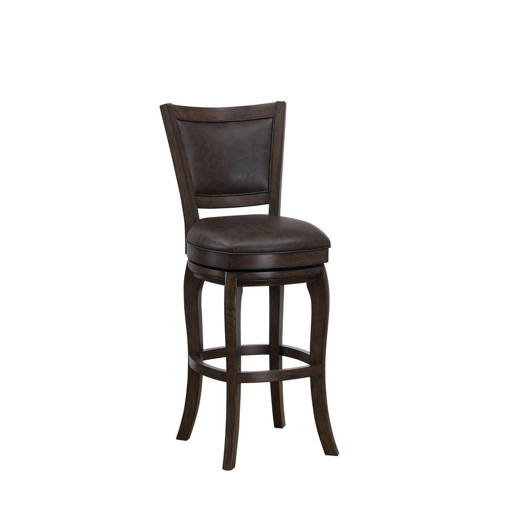 American Heritage Liberty 30 In Suede Bar Stool 130755sd