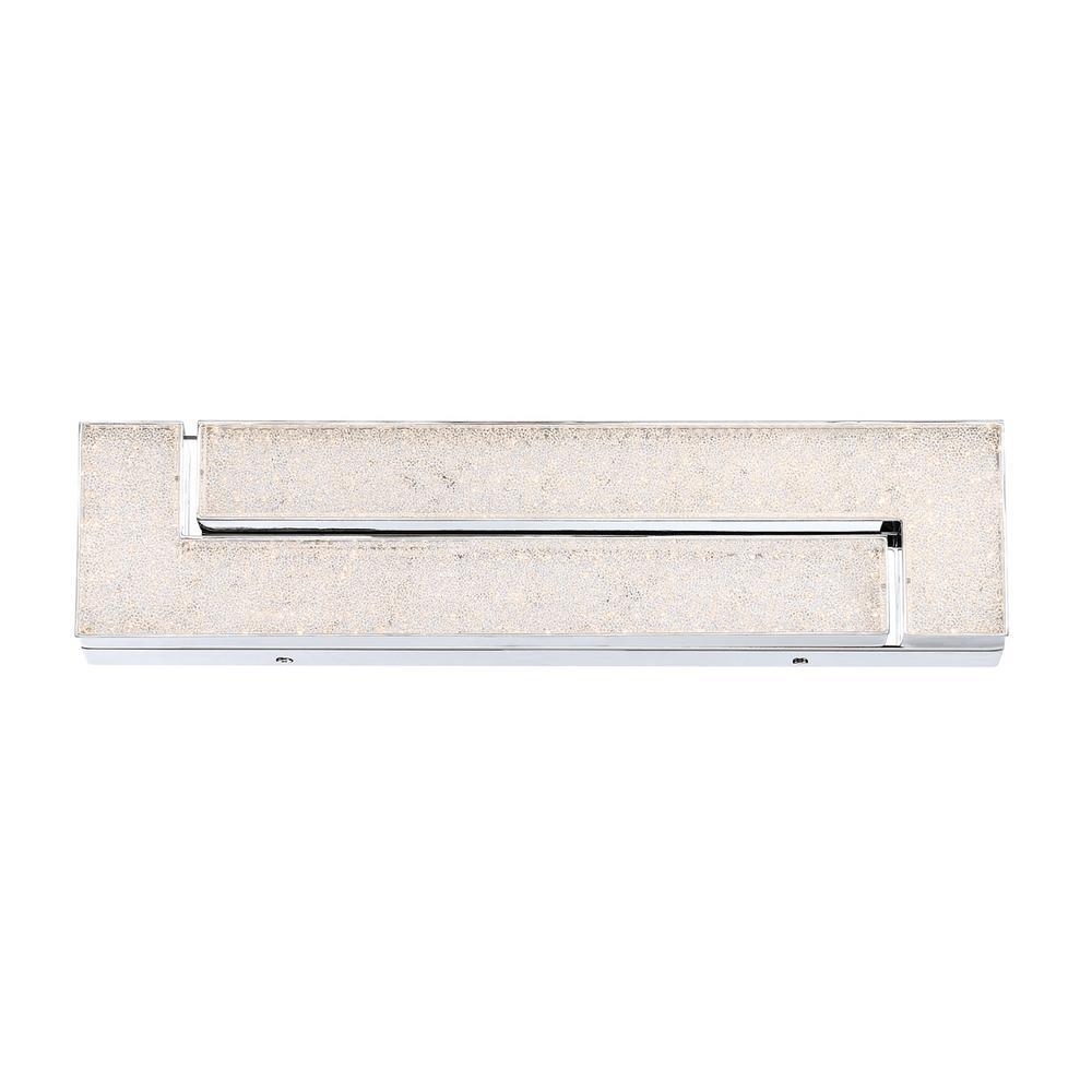 Santi 21-Watt Chrome Integrated LED Wall Sconce