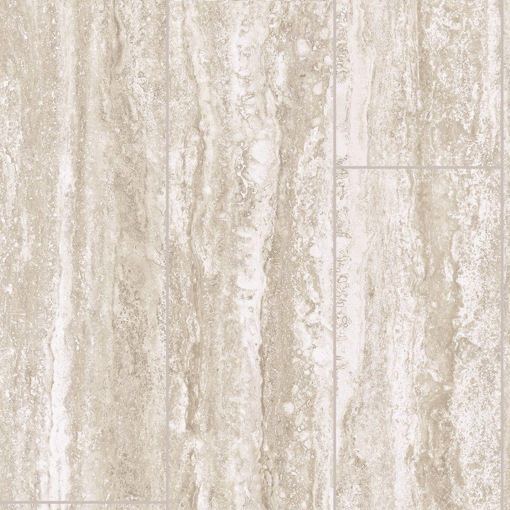 Lifeproof Take Home Sample Travertine Plank Vinyl Sheet