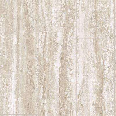 Take Home Sample - Travertine Plank Vinyl Sheet - 6 in. x 9 in.