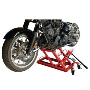 Click here to buy Big Red 1,500 lb. Motorcycle Jack by Big Red.