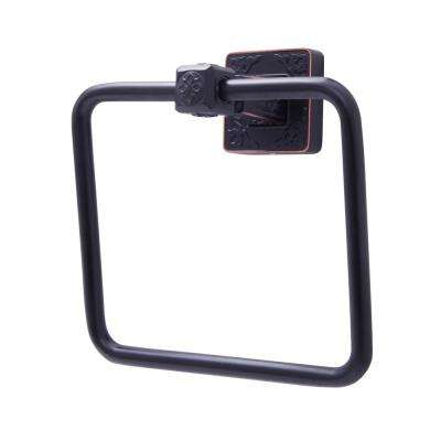 Reno Series Towel Ring in Oil Rubbed Bronze