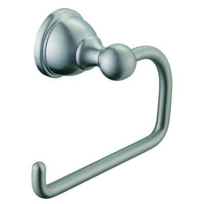 Mandouri Single Post Toilet Paper Holder in Brushed Nickel