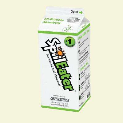 2 lb. SpillEater Environmentally Friendly Absorbent Carton (12-Pack)