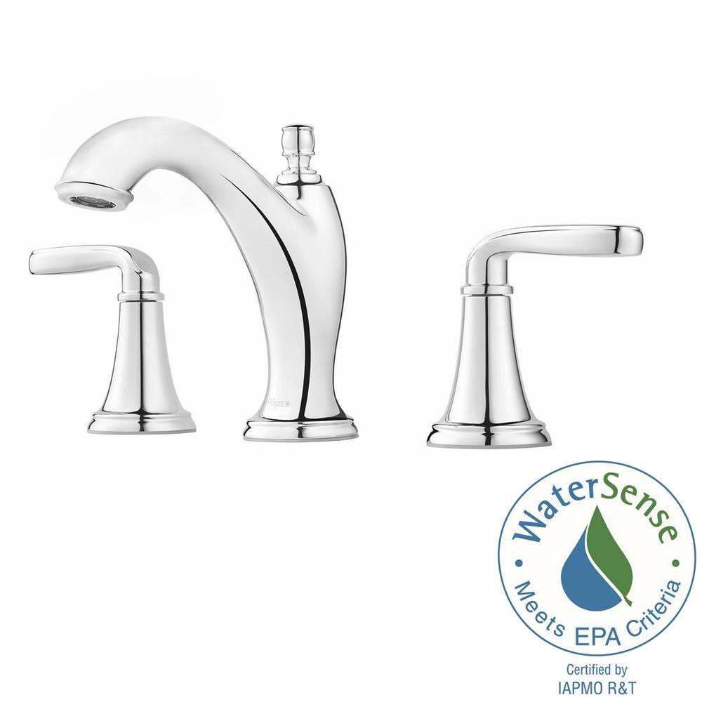Pfister Pasadena 8 in. Widespread 2-Handle Bathroom Faucet in ...