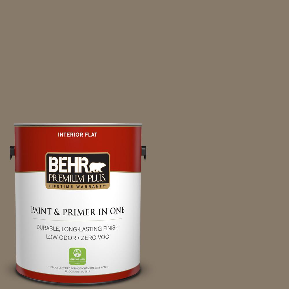 1 gal. #PPU7-24 Native Soil Zero VOC Flat Interior Paint