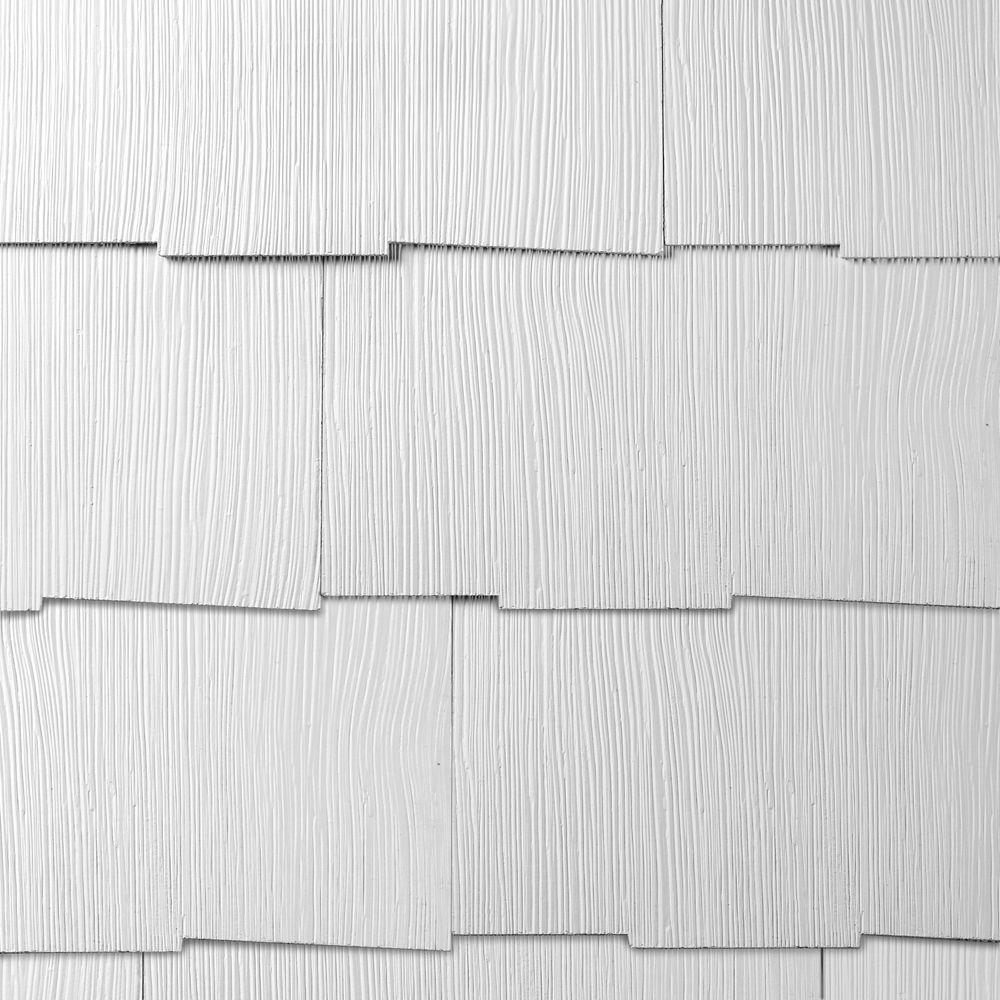 WeatherSide Emphasis 14-5/8 in. x 25-5/32 in. Fiber-Cement Siding Shingle (11-Bundle)