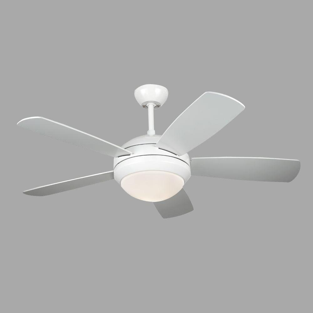 White Ceiling Fan 5DI44WHD   The Home Depot