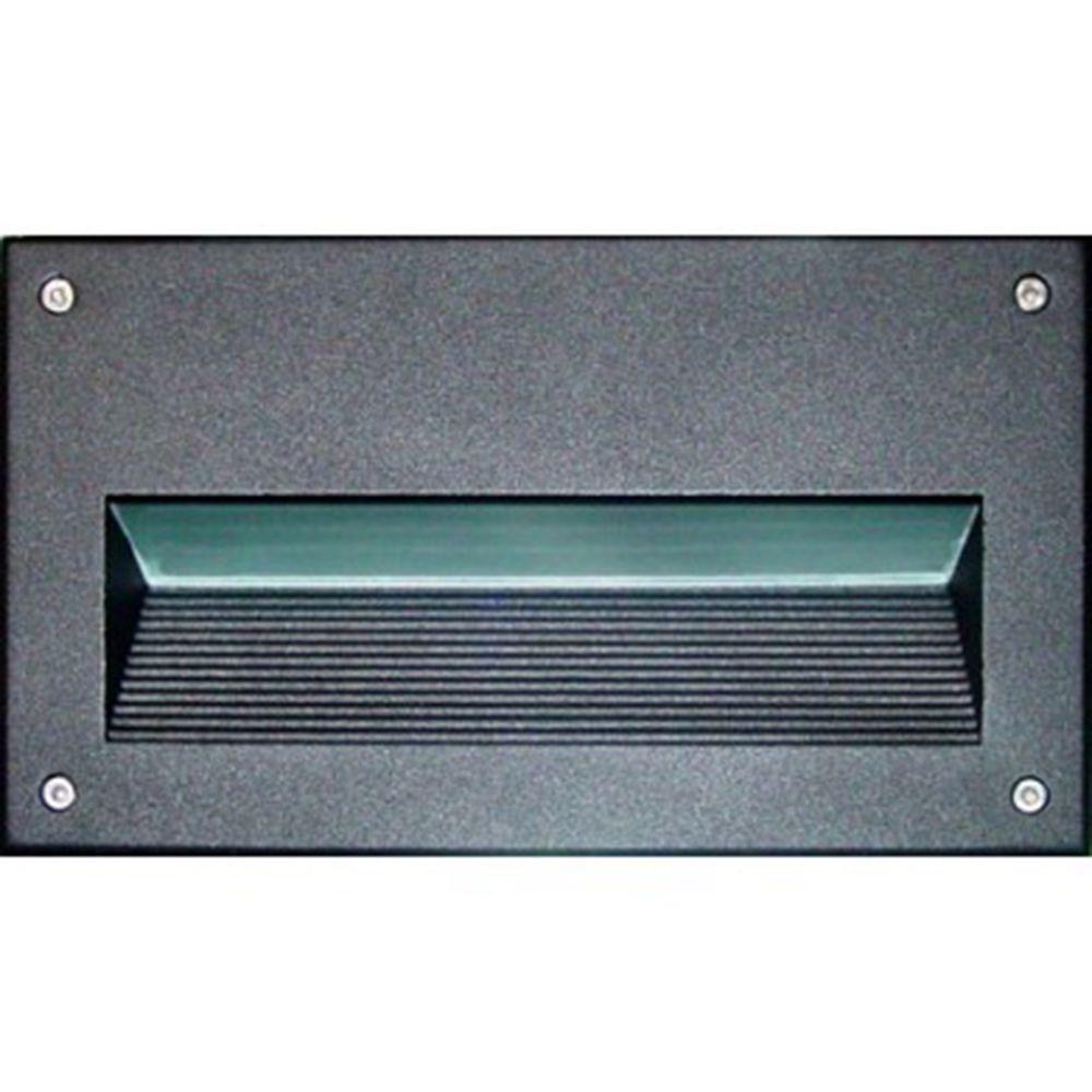 Filament Design Ashler 1-Light Black Outdoor Recessed Step Light
