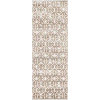 "Uptown Collection by Jill Zarin Brown 2'2"" x 6' Runner Rug"