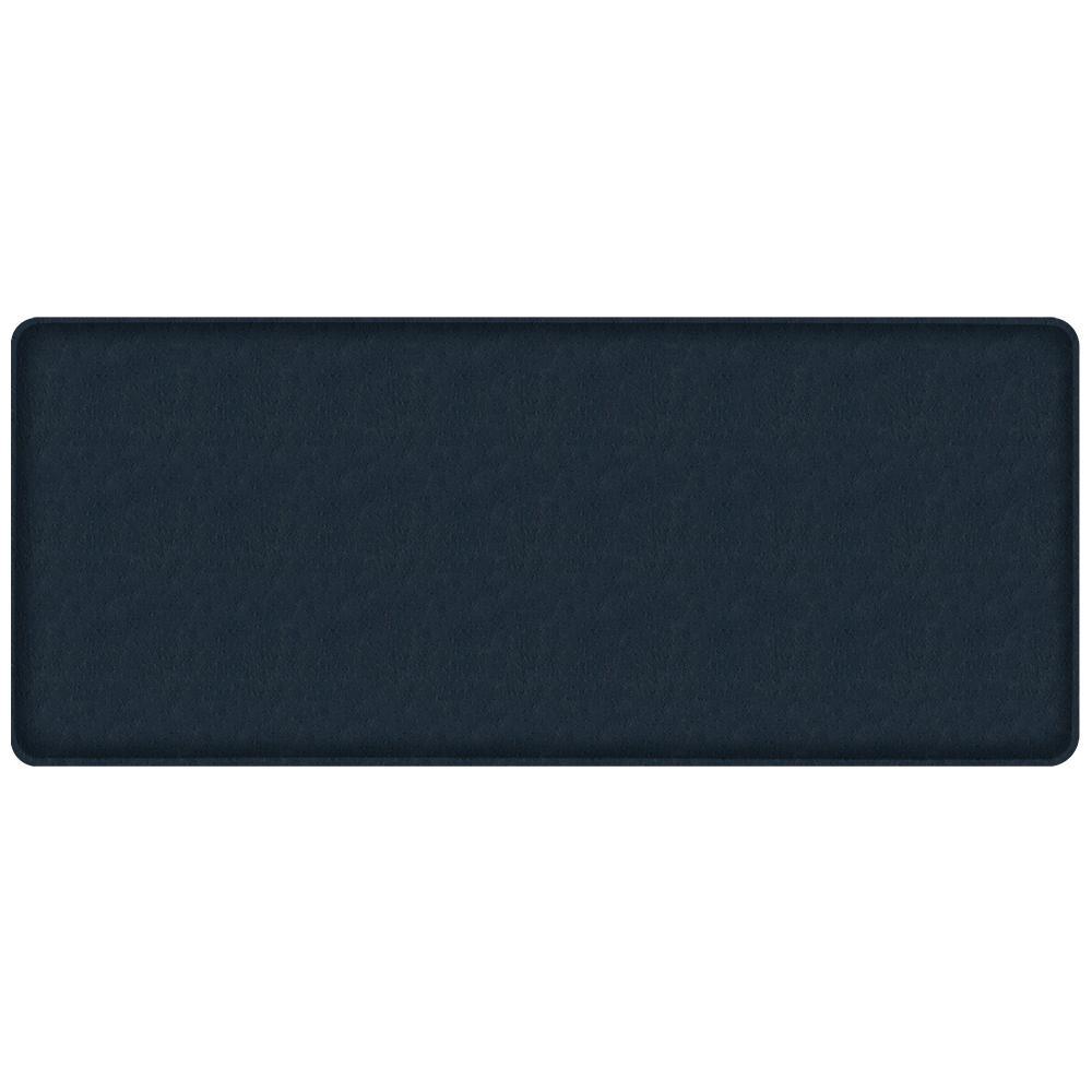GelPro Classic Quill Atlantic Blue 20 In. X 48 In. Comfort Kitchen Mat