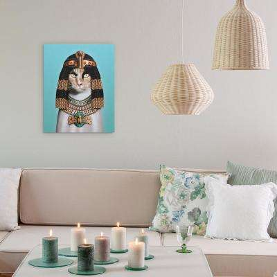 "20 in. x 16 in. ""Cleopatra"" Graphic Art on Wrapped Canvas Wall Art"