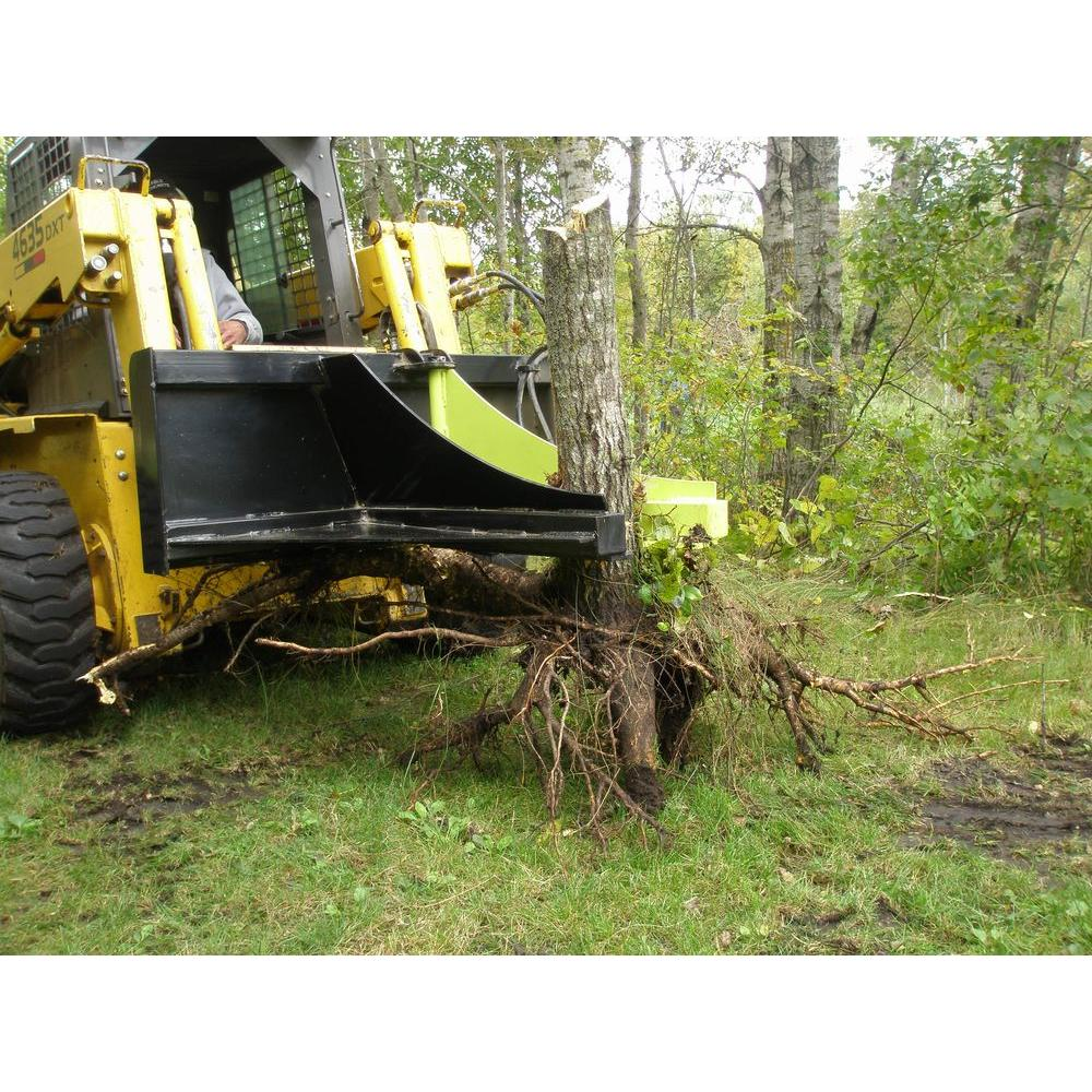 Tree Puller Skid Steer
