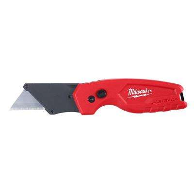 FASTBACK Compact Folding Utility Knife with General Purpose Blade