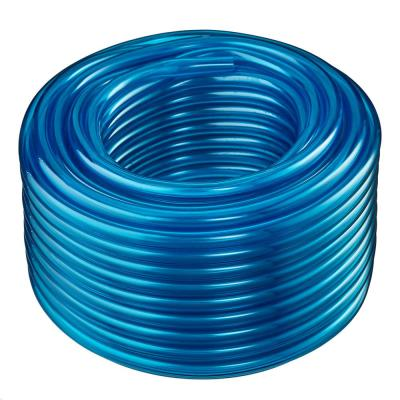 3/4 in. I.D. x 1 in. O.D. x 50 ft. Blue Translucent Flexible Non-Toxic BPA Free Vinyl Tubing
