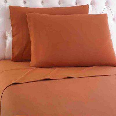 California King 4-Piece Spice Sheet Set