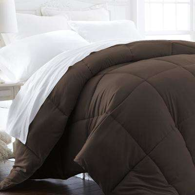 Performance Chocolate Queen Down Alternative Comforter