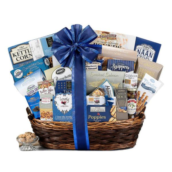 Wine Country Gift Baskets The Deluxe Kosher Gift Box
