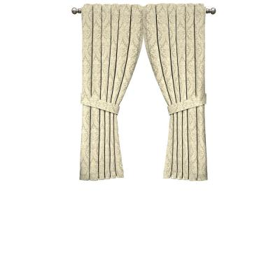 Donnington Window Curtain Panel in Linen - 52 in. W x 63 in. L