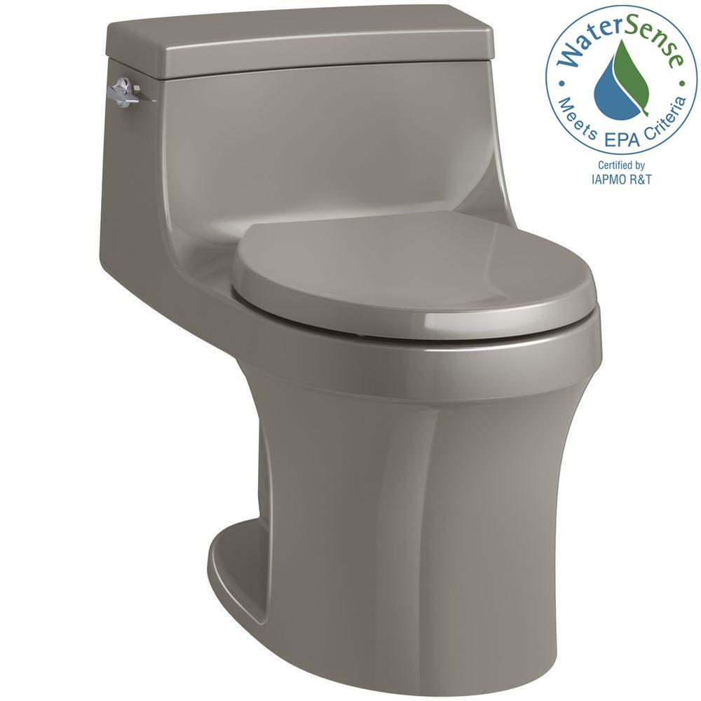 Kohler San Souci 1 Piece 28 Gpf Single Flush Round Toilet In Cashmere