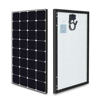 Eclipse 100-Watt 12-Volt Monocrystalline Solar Panel for RV Boat Solar System