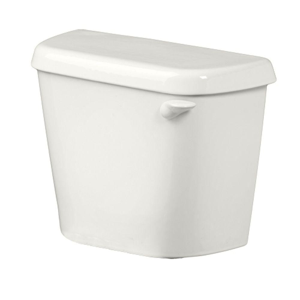 American Standard Colony 1.6 GPF Single Flush Toilet Tank Only for 12 in. Rough in White with Right-Hand Trip Lever