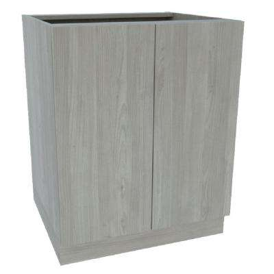 Ready to Assemble 30 in. x 34-1/2 in. x 21 in. Vanity Sink Base Cabinet in Grey Nordic Wood