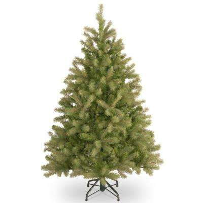 4-1/2 ft. FEEL-REAL Downswept Douglas Fir Hinged Artificial Christmas Tree Special Version