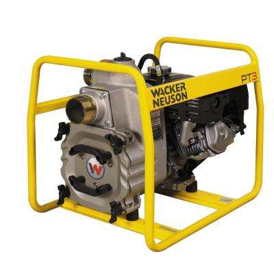7.9 HP 3 in. Centrifugal Trash Pump with Honda Engine and Wheel Kit