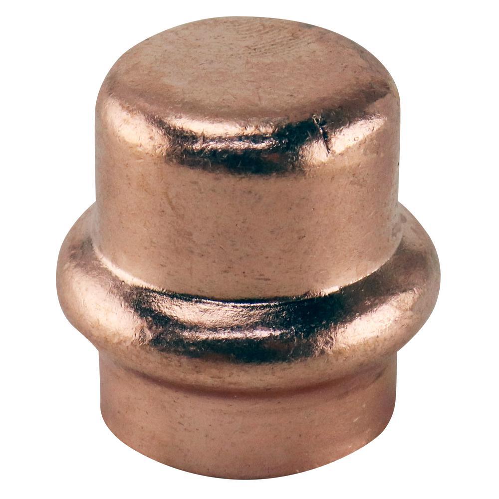 1/2 in. Copper Press Tube Cap