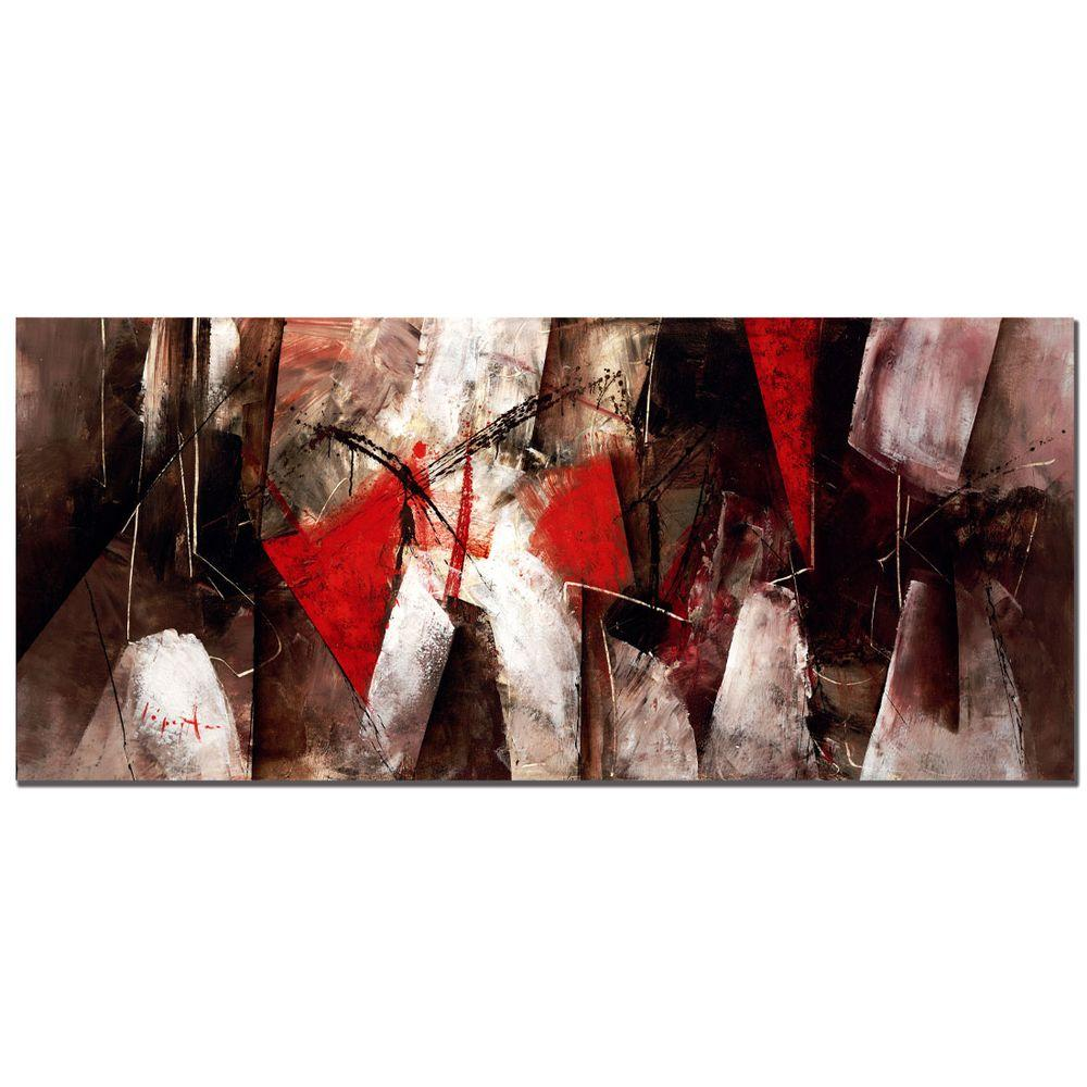 Trademark Fine Art 14 in. x 32 in. Abstract VII Canvas Art