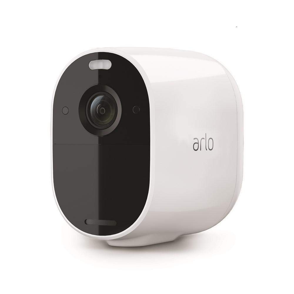 Arlo Essential Spotlight Wire Free Camera White Vmc2030 100nas The Home Depot