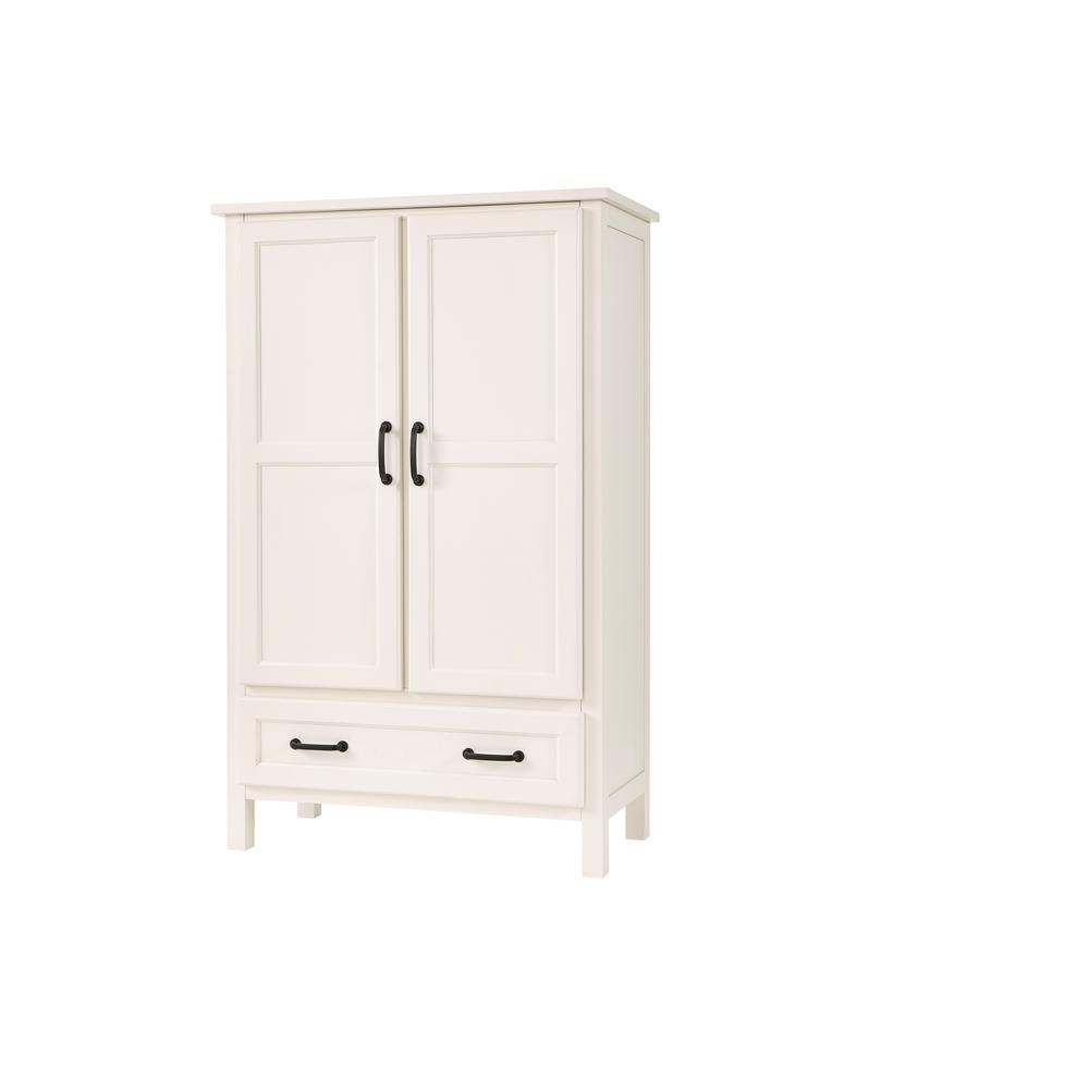 Stylewell StyleWell Ivory Wood Kitchen Pantry (30 in. W x 47 in. H)