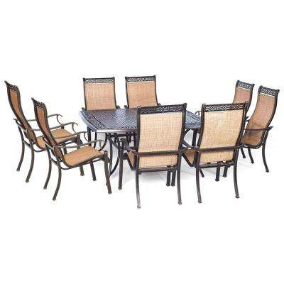 Manor 9-Piece Square Patio Dining Set