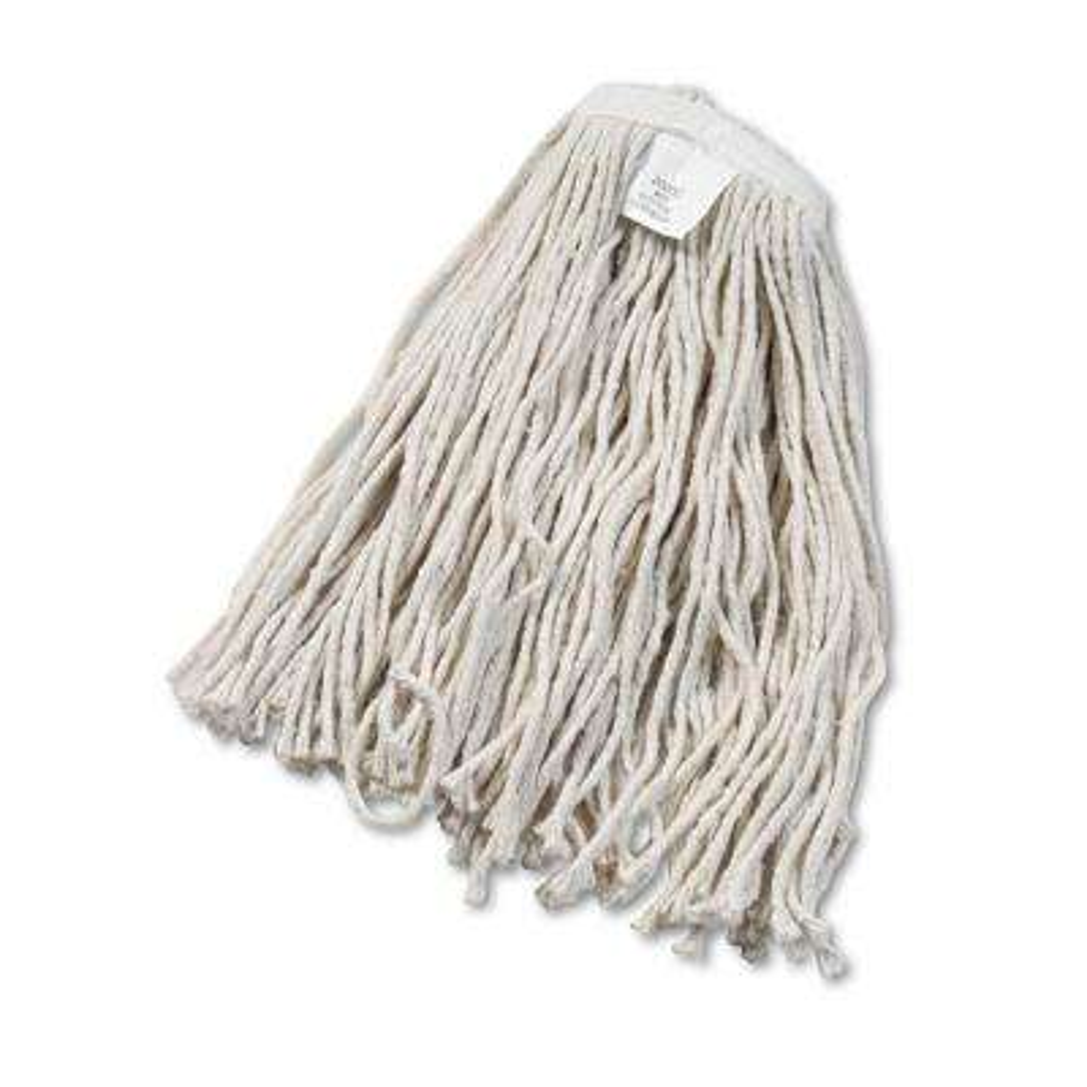 #20 Cotton Cut-End Wet Mop Head in White (12-Carton)