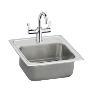 all in one kitchen sink elkay pacemaker drop in stainless steel 15 in 1 bar 7422