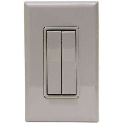 Click for Philips Hue Light Switch, Gray