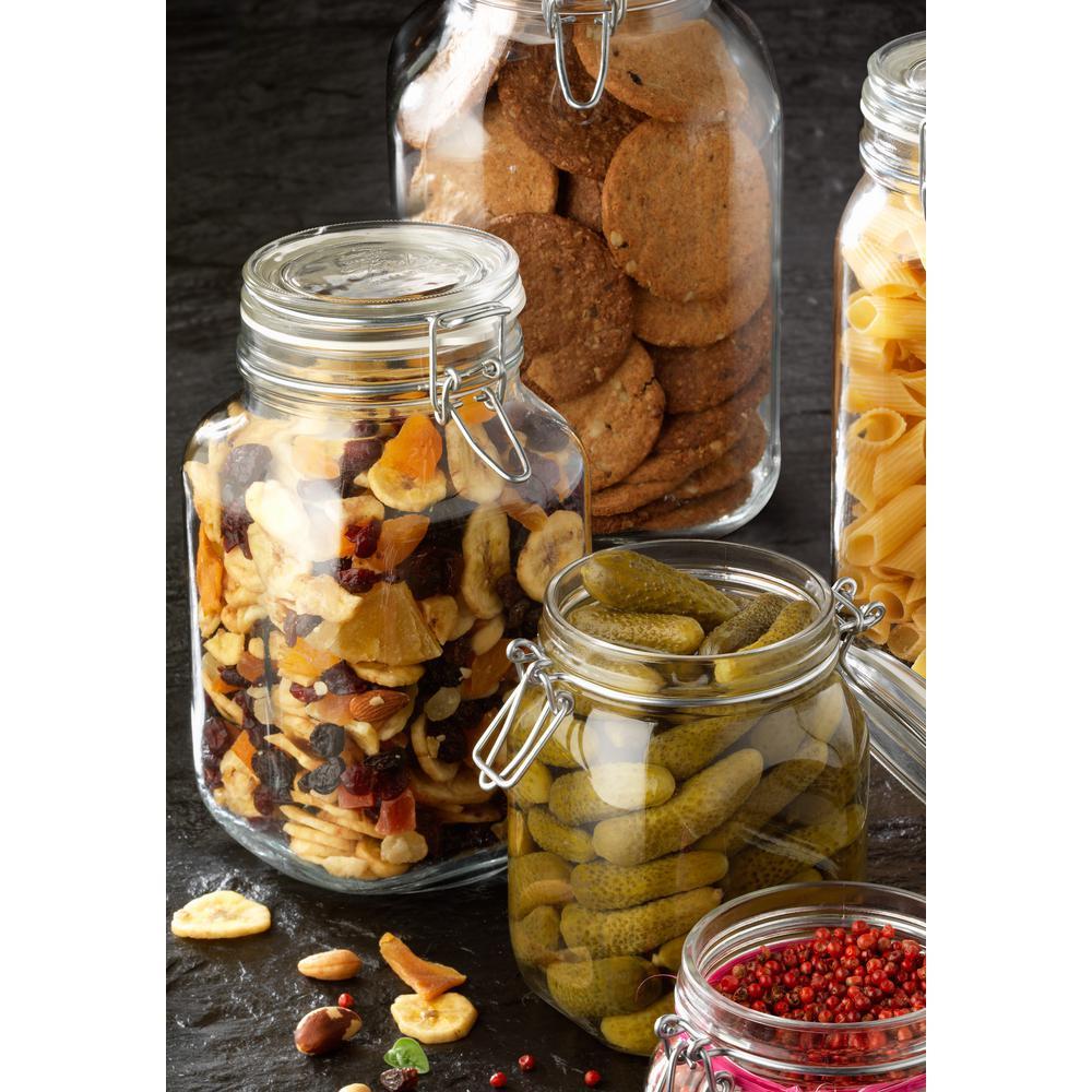 67.75 oz. Glass Storage Jar (6-Pack)