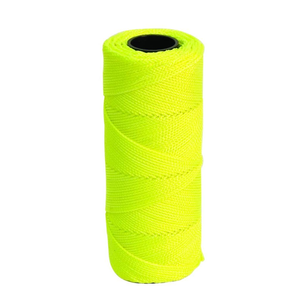 Marshalltown 500 ft. Florescent Yellow Braided Mason's Line