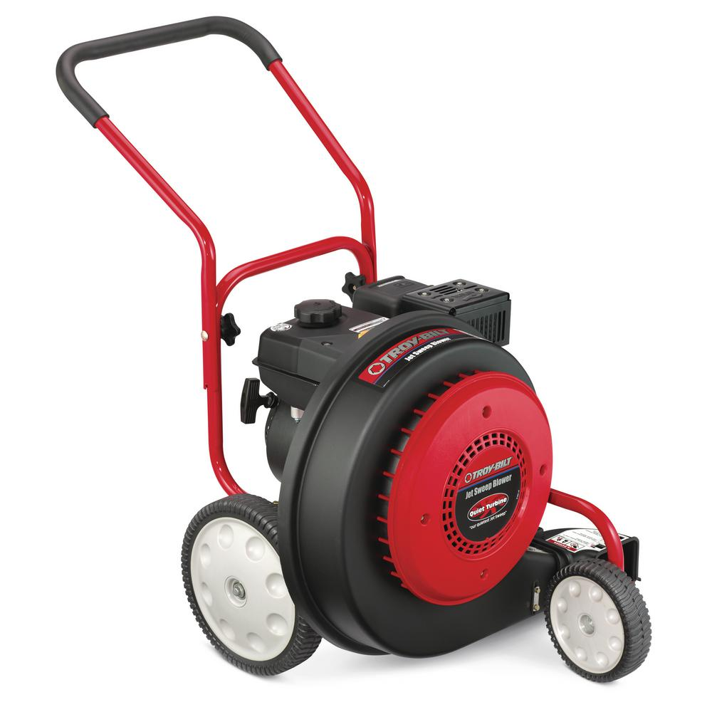 Troy-Bilt 150 MPH 1000 CFM 208 cc Walk-Behind Gas Blower with 90-Degree Front Discharge Chute
