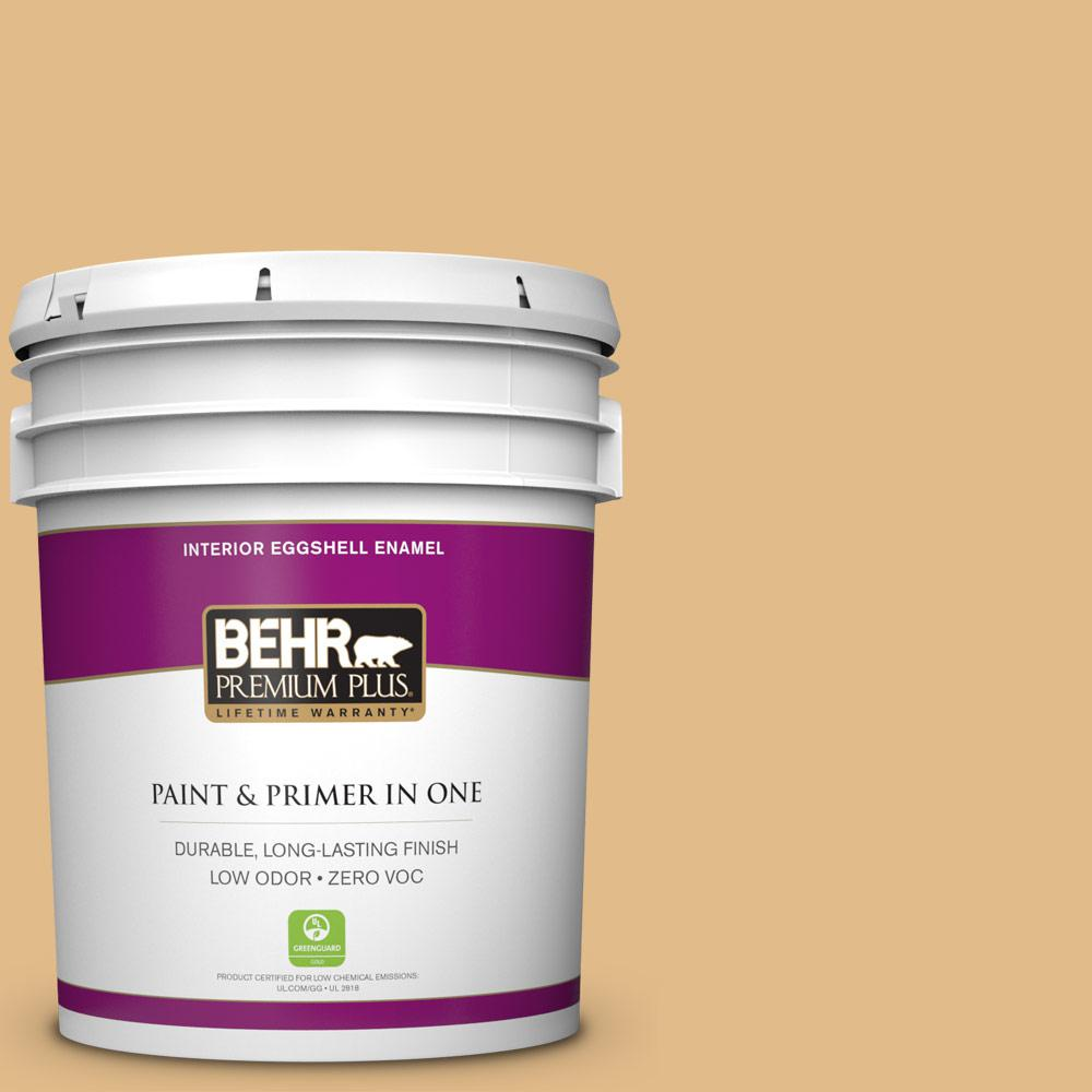 5-gal. #M280-4 Royal Gold Eggshell Enamel Interior Paint